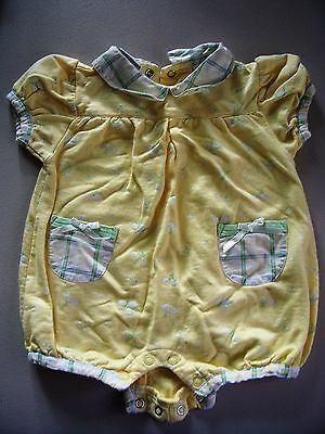 Infant one piece, girls summer outfit, used, excellent condition, size 3/6 mos.