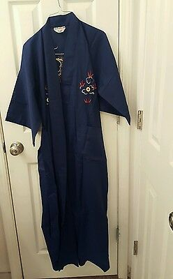 Vintage Authentic Chinese Robe Asian Oriental Kimono Chinese Japanese