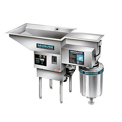 Salvajor 500-PSM Pot/Pan ScrapMaster Pre-Flushing & Disposing System