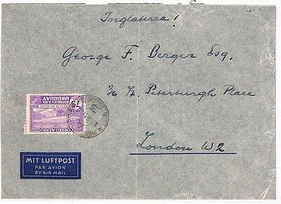 VV504 Uruguay Montevideo London GB England Cover Samwells-Covers