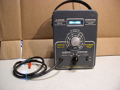Vntage PACO C-25 In-Circuit Capacitor Tester