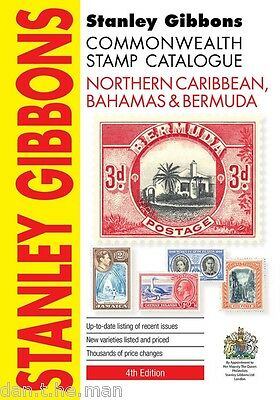 STANLEY GIBBONS COMMONWEALTH STAMP CATALOGUE - NORTHERN CARIBBEAN BAHAMAS 4th Ed