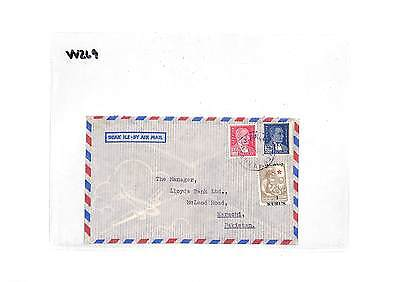 VV269 Turkey Karachi Pakistan Cover Samwells-Covers