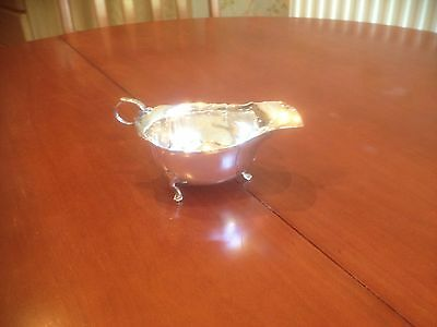 Solid Silver Sauce Boat