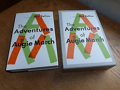 First Edition Library Reprint 1981 The Adventures of Augie March Saul Bellow