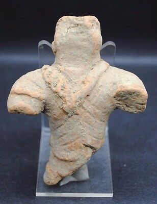 Ancient West Asian Terracotta Idol Figurine