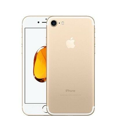 "Apple iPhone 7 256GB - Gold - (Unlocked) - 1 Year Warranty -""Pristine Grade A+"""