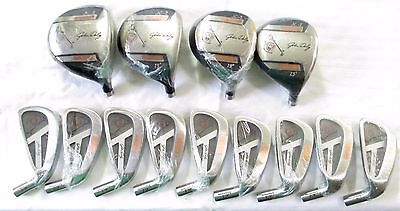 John Daly Jc-2 Golf Club Wood and Iron Heads DR-7W 3-SW Complete Set 13 Heads