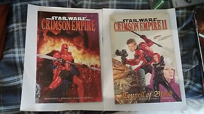 Star Wars Graphic novel:Crimson Empire volume 1 and 2