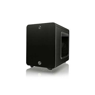 RAIJINTEK METIS PLUS No Power Supply Mini-ITX Case w/ Window (Black)