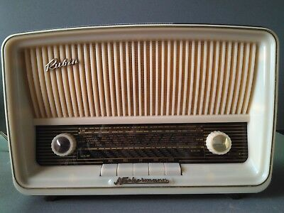 Radio Antigua Neckermann Rubin Reparada Funcionando Tube Radio