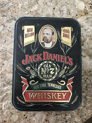 Jack Daniels Old Time Tennessee Whiskey Tin With Golf Balls