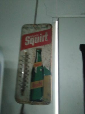 Vintage Squirt Thermometer