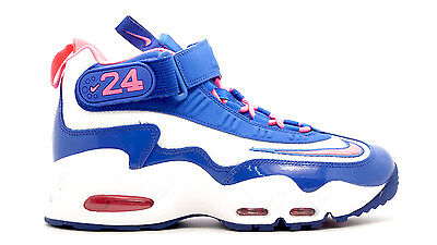[552983-100] Nike Boys Youth Nike Air Griffey Max 1 Grade School Sneakers White/