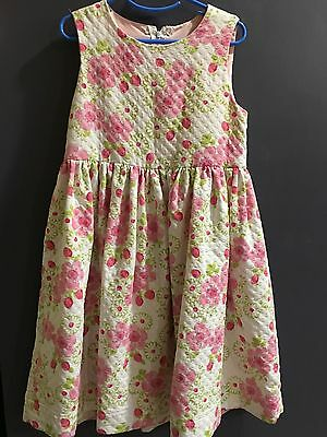 Lot of 2 Girls boutique custom dress Florence Eiseman size 6 7 8