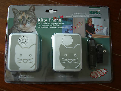 Telephone Pour Chats Independants Kitty Phone De Luxe Neuf Sous Emballage