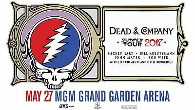 Dead And Company - Mgm Grand - May 27, 2017 - 4 Tickets - Instant Download