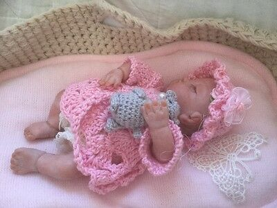 Beautiful Polymer hand sculpted Baby girl