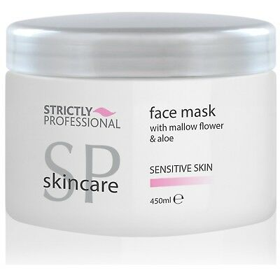 Strictly Professional Facial Mask w/ Mallow Flower & Aloe Sensitive Skin 450ml