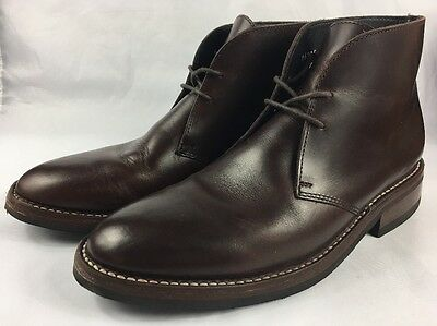 Thursday Boot Company Mens Brown Leather Scouts Quality Rich Casual Chucca men's