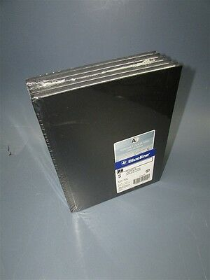 """Lot of 5 New Blueline A9 Notebooks, 9-1/4 x 7-1/4"""", 192 Pages, Hard Cover"""