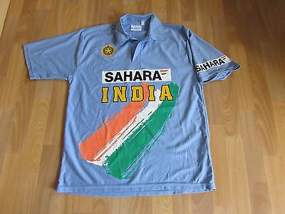 World Cricket Store INDIA Board of Control Sahara CRICKET Shirt ADULT Size XL