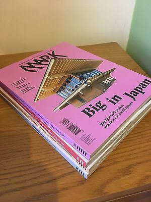 Mark Architectural Magazines Job Lot X 4