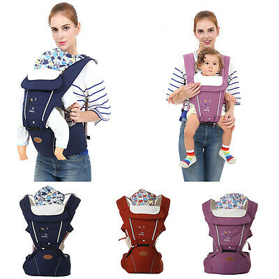 Breathable Ergonomic Professional Infant Baby Carrier Hip Seat Newborn Backpacks