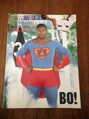Bo Jackson Cover Beckett Football Card Price Guide January 1991 Issue #10