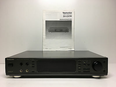 Technics SH-GE90 Digital Sound Processor - Graphic Equalizer mit Anleitung