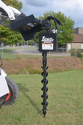 """Bobcat Skid Steer Attachment Lowe 750 Round Auger Drive with 4"""" Bit - Ship $199"""
