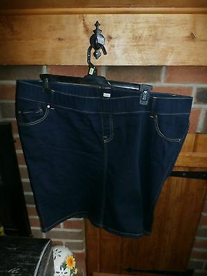 Womans Denim Maternity Skirt by Old Navy Size XL    VERY NICE
