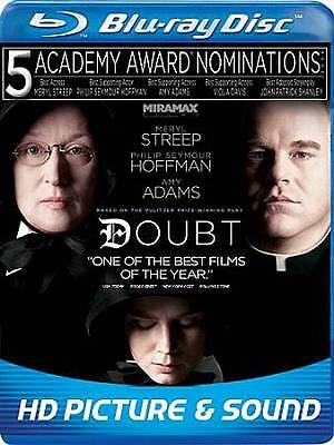 Doubt (Blu-ray Disc, 2009) BRAND NEW / FACTORY SEALED / FREE SHIPPING