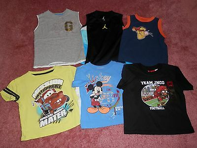 Lot Toddler Boy Shirts Tops Size 4T