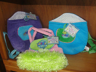 Brand New set of 3 webkinz pet carriers.  New lot with codes