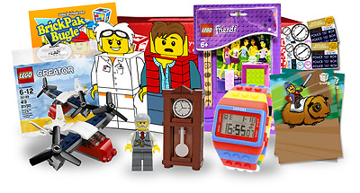 LEGO Loot Box Bundle - Time Travel, Watch, Polybag, Minifigure, Doc, Marty &more