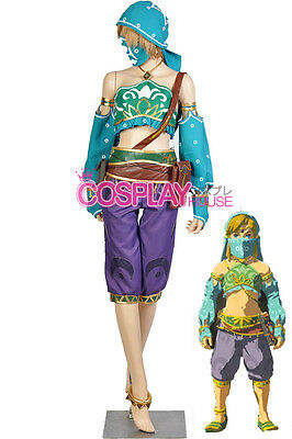 Legend of Zelda: Breath of the Wild Link Costume Version 04 - Gerudo Outfit