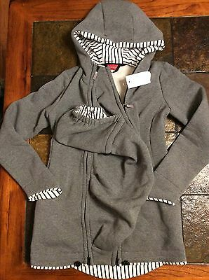 AgnesH My Fashion Multi Use Baby Carrying Gray Jacket US Size Small/Medium