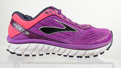 Brooks Ghost 9 Women's Pink / Purple Running Shoes Size 8 Nice EUC