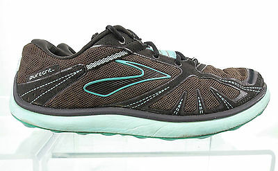 Brooks Pure Grit Women's Trail Running Shoes Size 8.5 Brown Blue