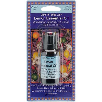 Essential Oil .5oz  (15ml) - Lemon