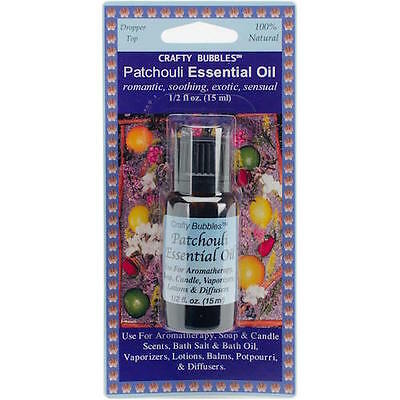 Essential Oil .5oz  (15ml) - Patchouli