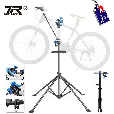 Toolrcok Bike Repair Work Stand Adjustable Home Bicycle Mechanic Quick Release