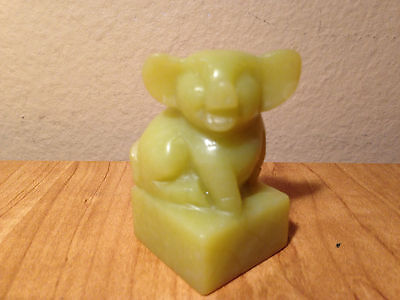 Chinese Asian Stone Carved  Stamp  Pig ~ Joseph Name