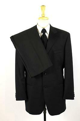 mens black RALPH LAUREN TUXEDO SUIT tux jacket pants formal evening L 44 R