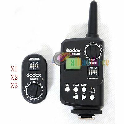 Godox FT-16 Flash Trigger + Receiver USB Port For Godox Studio Flash Light【AU】
