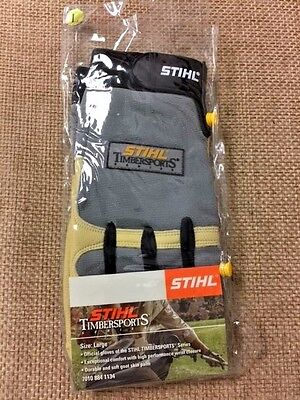 Official Gloves of the Stihl TIMBERSPORTS 7010 884 1134 Durable,  soft goat skin