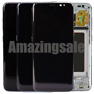 USA LCD Touch Screen Digitizer Frame Replacement for Samsung Galaxy S8 S9 Plus