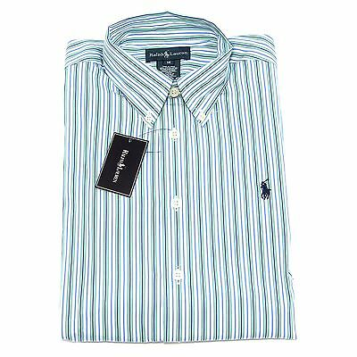 7276S camicia righe bimbo RALPH LAUREN   manica lunga stripes shirt kid
