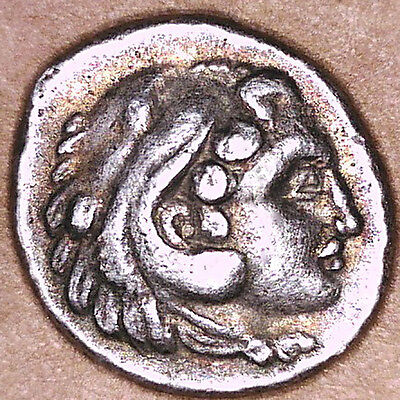 THRACE AR TETROBOL, 4TH CENTURY BC, NICE VF - XF,  2.8g, 13.5mm, VERY HIGH GRADE